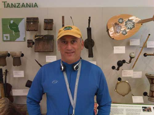 Alan at Museum of Musical Instruments