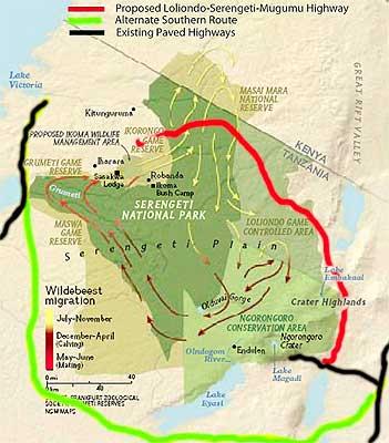Serengeti Mugumu Hwy