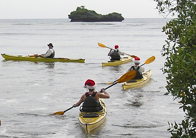 Christmas Paddle in Tanzania