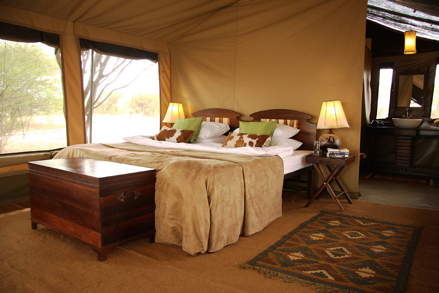 Room at the Manyara Ranch available from Infinite Kayak Adventures
