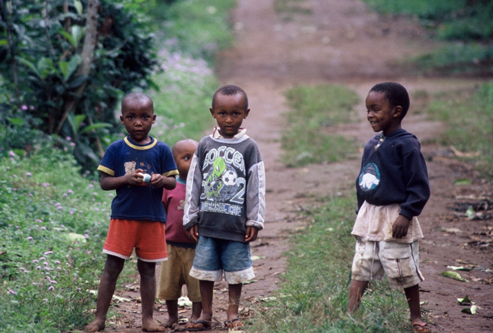 Children Living in Tanzania