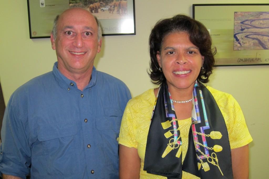 Alan Feldstein with Ambassador Wanda Nesbitt