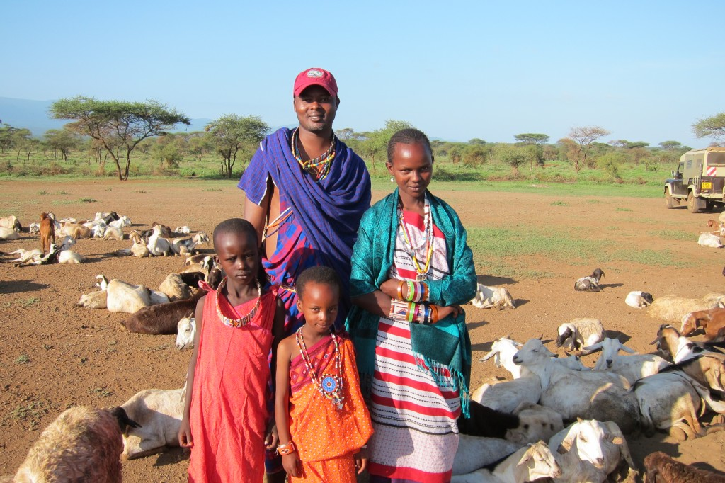 My Maasai Rafiki Patrick & His Family