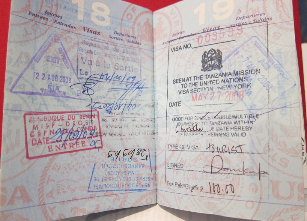 Inside My Passport