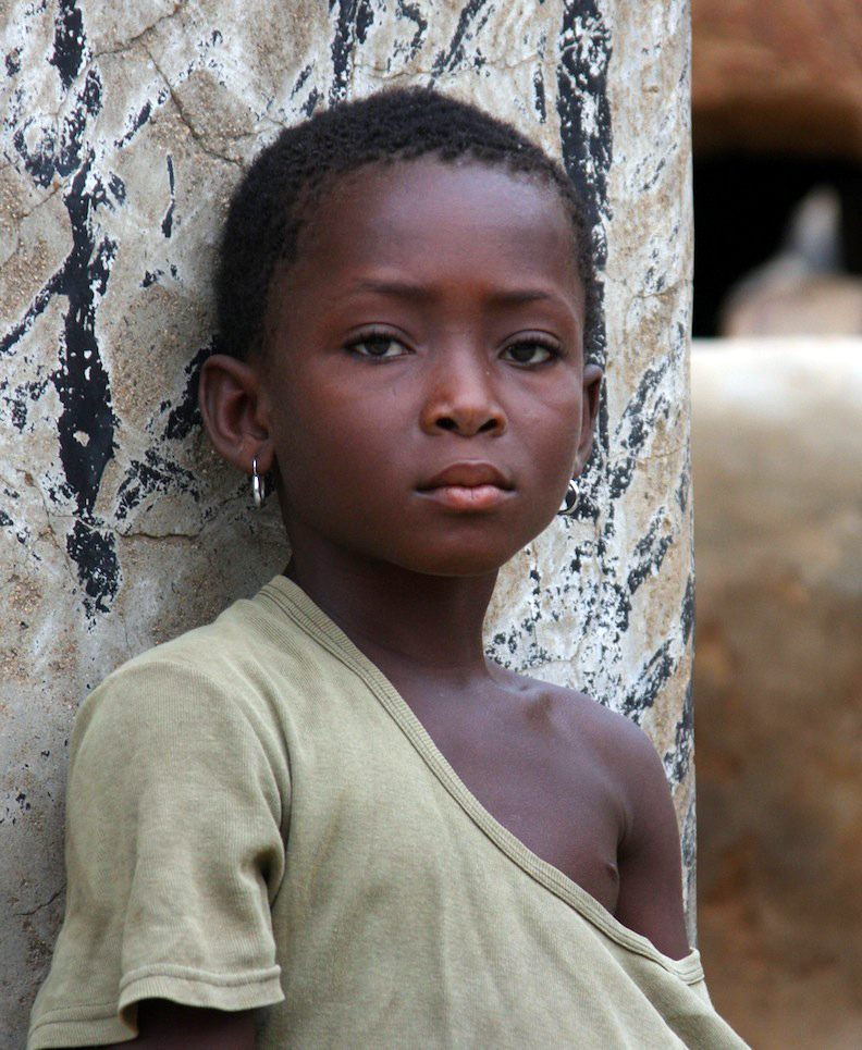 Child from Lome Togo