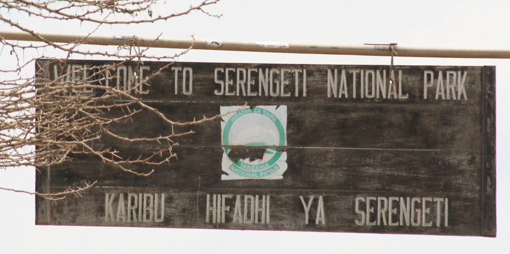 Welcome to Serengeti National Park - Tanzania