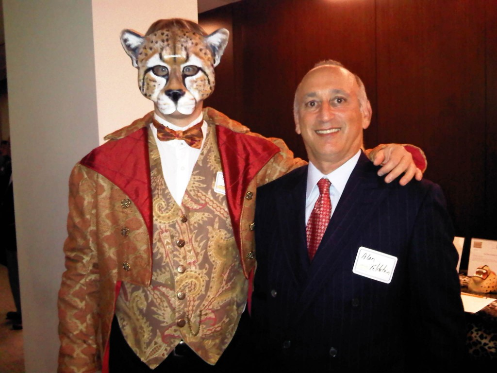 Alan Feldstein at the Cheetah Conservation Fund Board Meeting