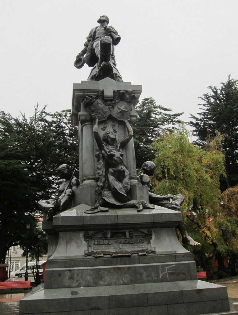 Statute of Magellan - Punta Arenas Chile
