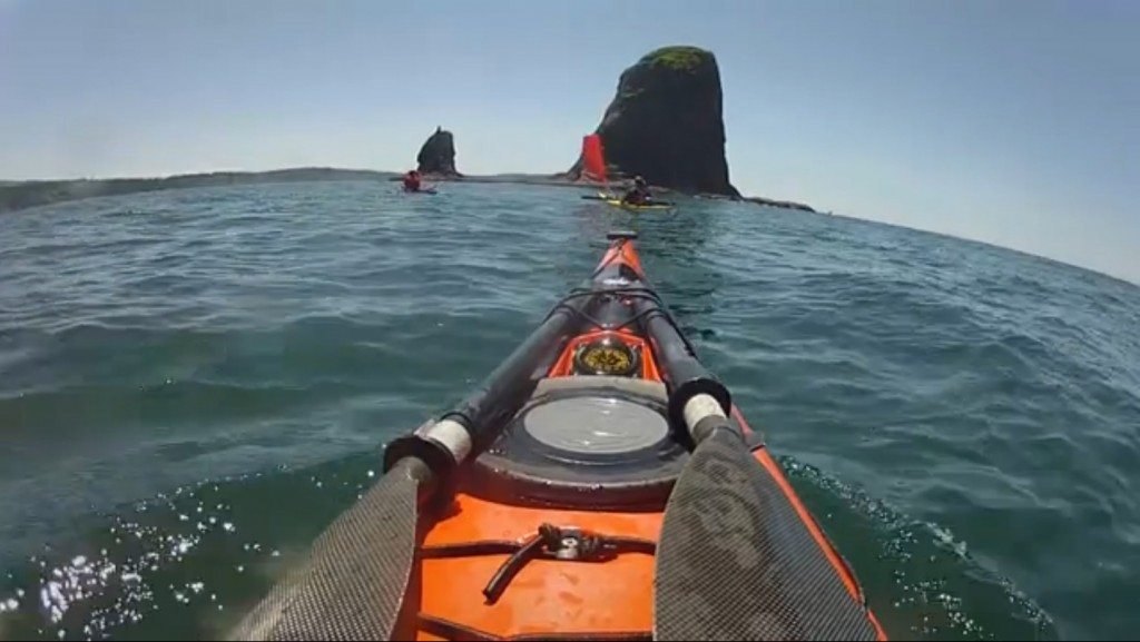 Kayaking Along Washington's Roadless Coast
