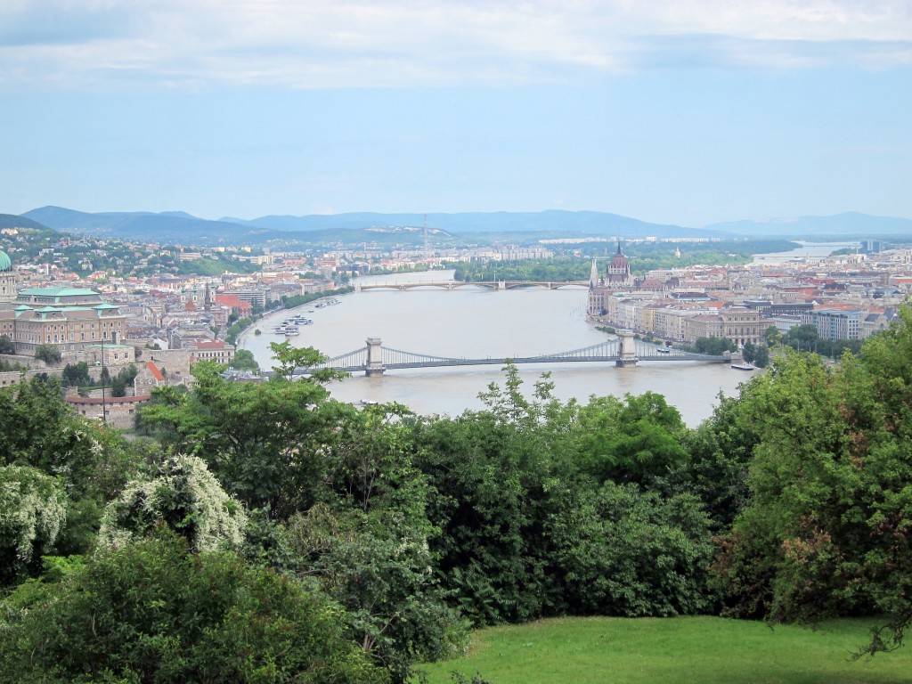 Budapest (Buda on Left - Pest on Right)