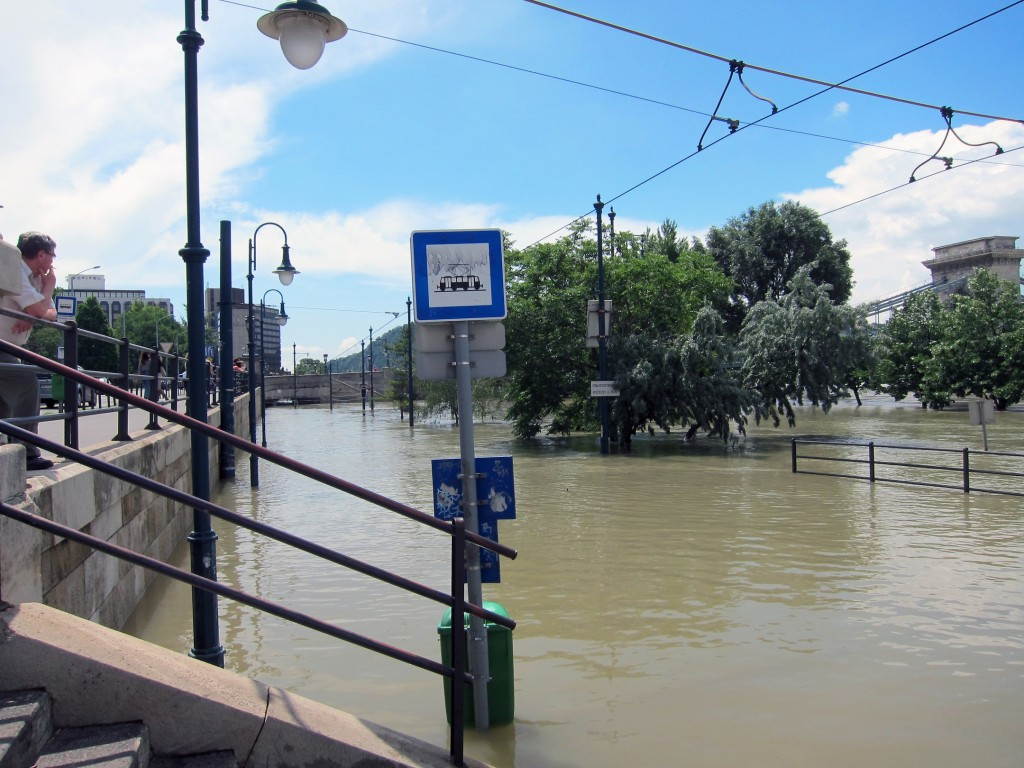Flooding of the Danube