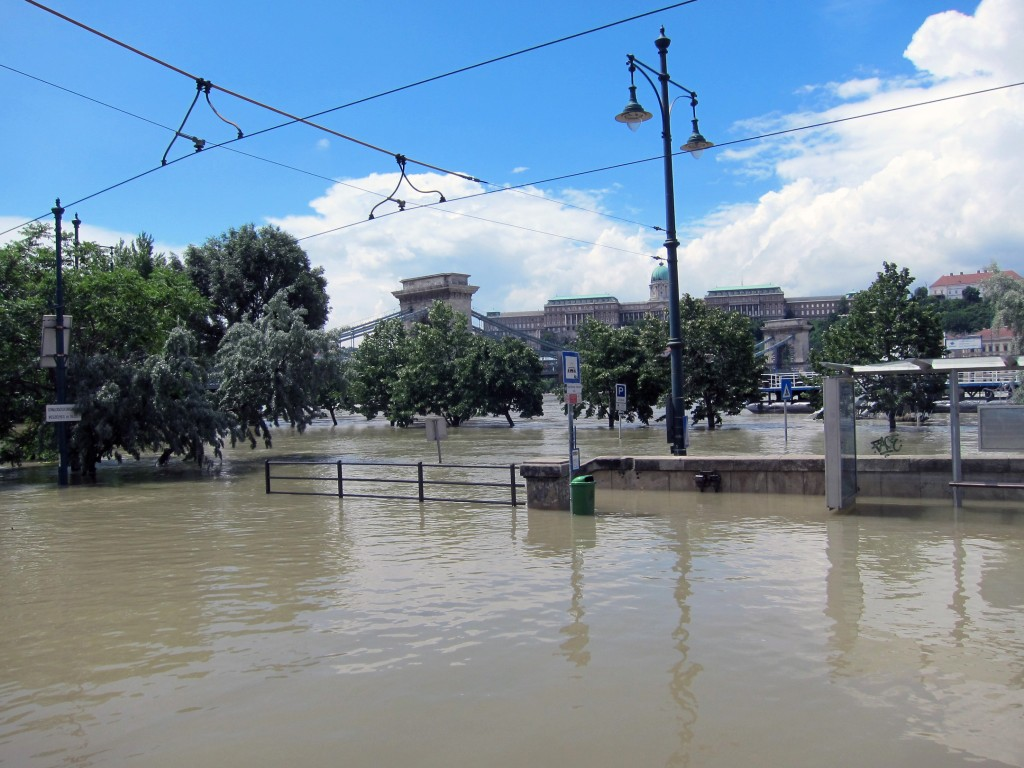 More Flooding in Budapest