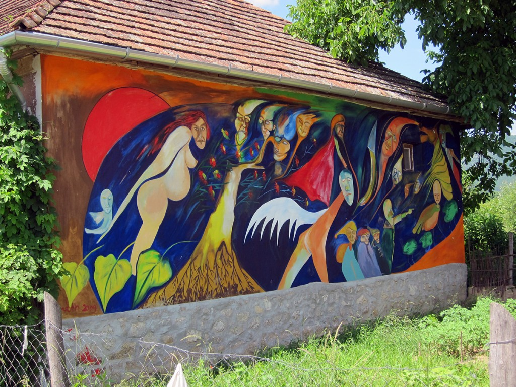 Mural of Bodvalenka, Gypsies