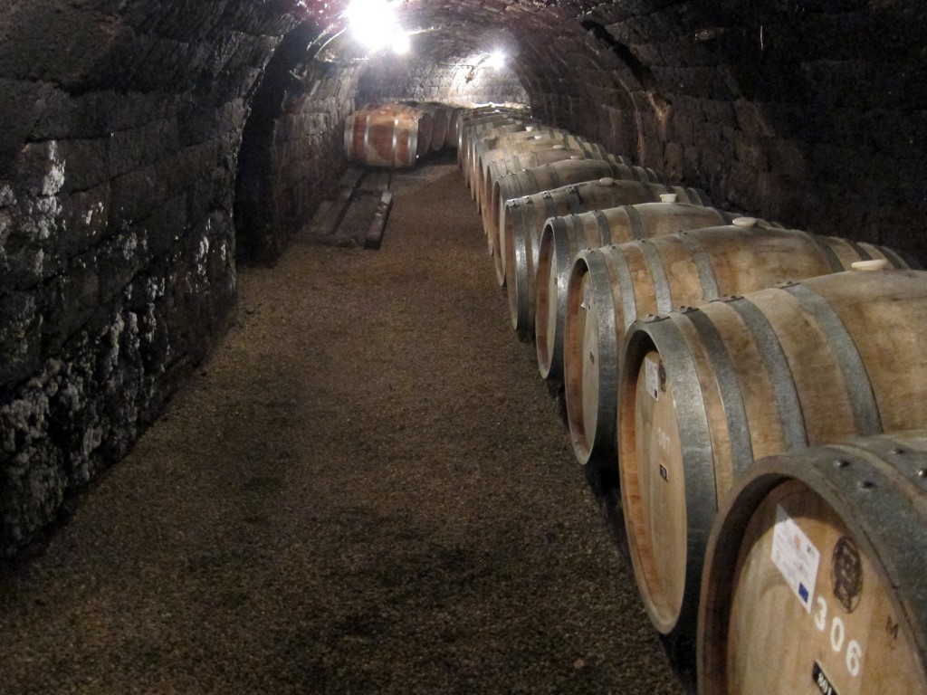 The Underground Cellars of the Royal Tokaj