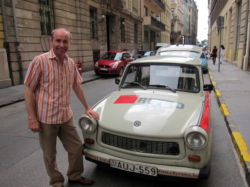 Zoltan & His Trabant - How does he fit?