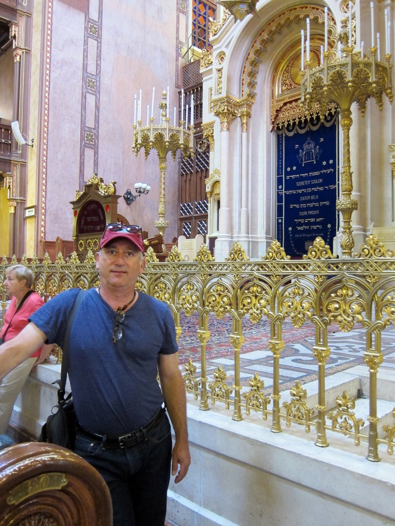 Alan In Front of Altar