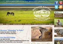 The New Infinite Safari Adventures Web Site