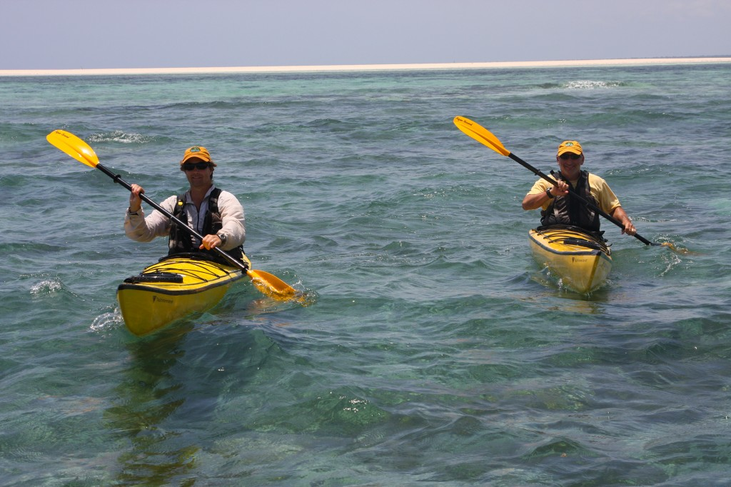 The Founders Kayaking Near Fish Eagle Point