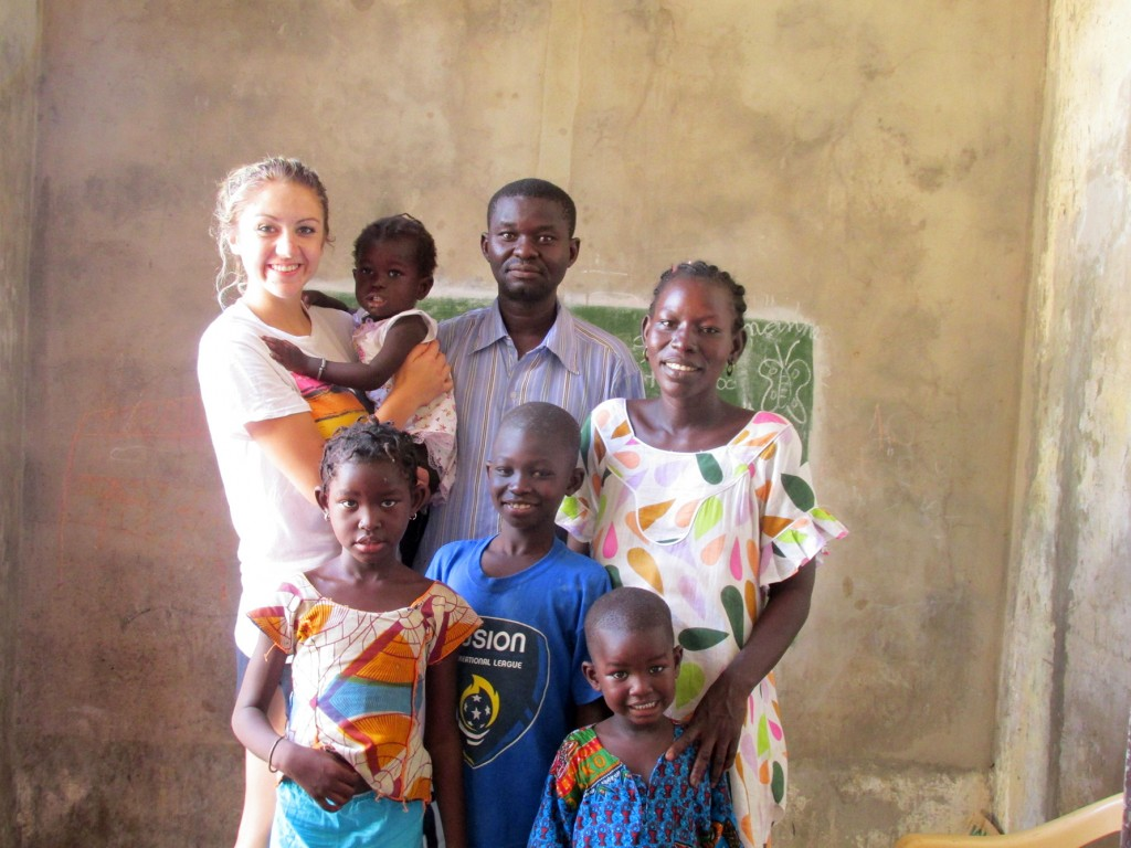 Julianna Gordon and Faye Family