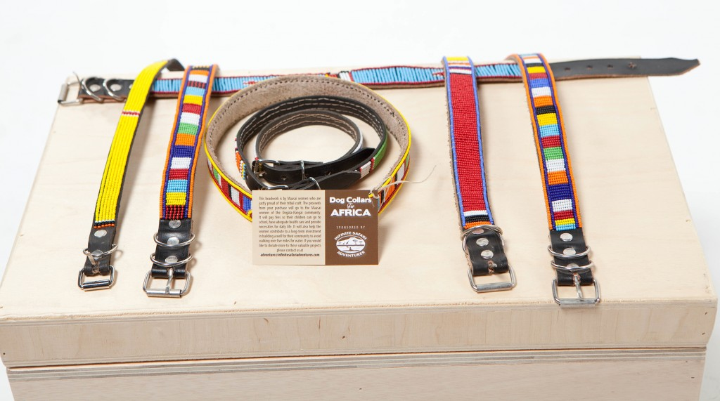 Maasai Beaded Dog Collar