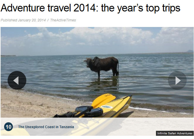 Infinite Safari Adventures Named One Of 2014 Top 10 By Fox News.com