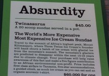 The $60,000 Sundae