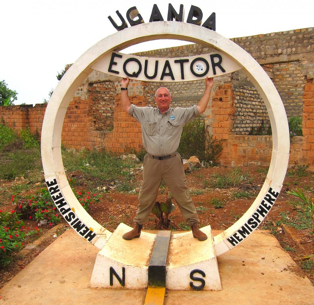 Alan in Uganda