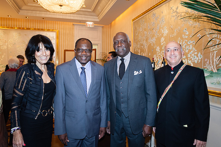 Karen Hoffman, Dr. Meru, Richard Roundtree and Alan Feldstein