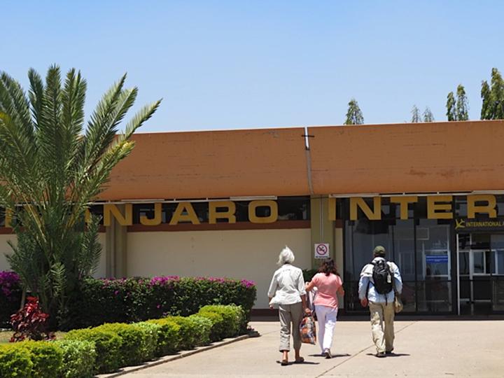 At Kilimanjaro Airport