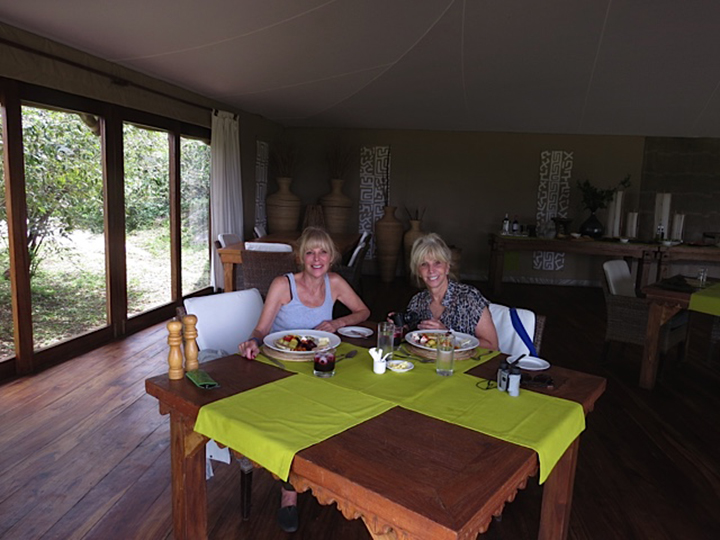 Sherri & Karen At Sayari