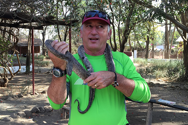 No Snakes On Safari, But... You Can Still See Them!