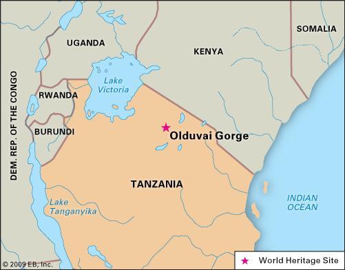 Olduvai Map