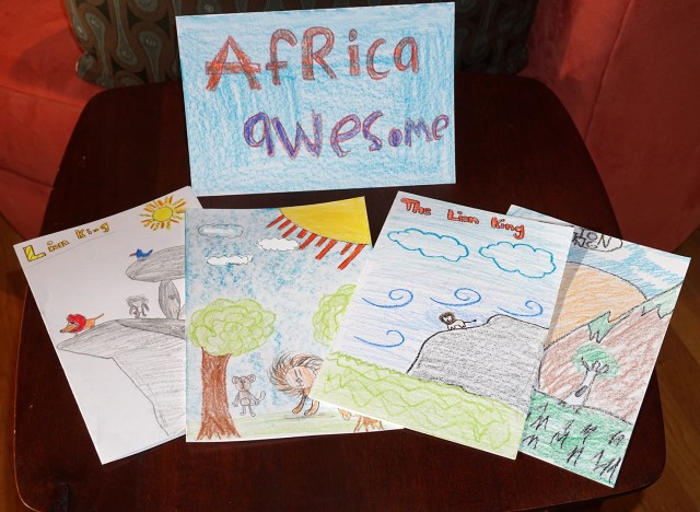 Fantastic Thank You Notes from Kittredge Elementary School