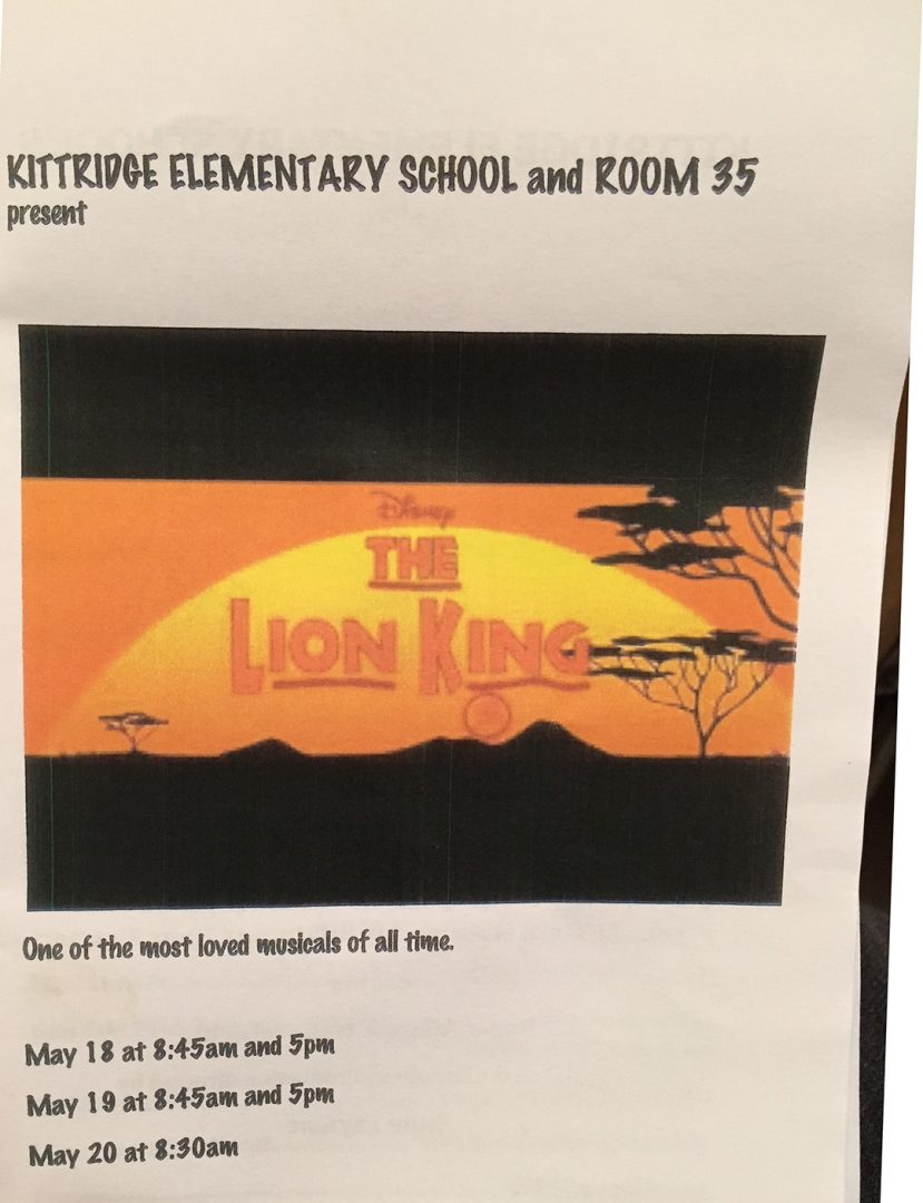 Lion King Program