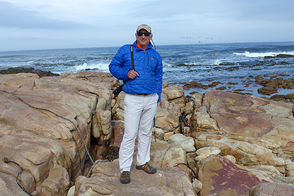 Standing At The Cape of Good Hope